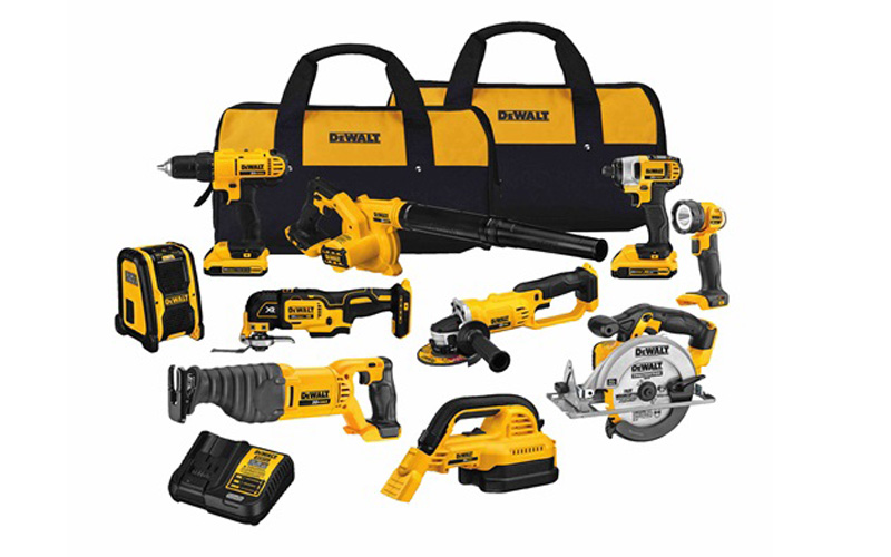 Dewalt Vs Porter Cable Makita Milwaukee Ryobi Cordless Combo Kit